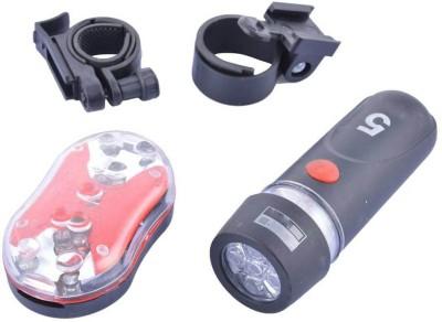 Gubbarey LED Front and Rear Combo LED Front Light(Black)