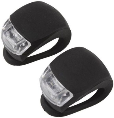 Star 3 Mode Bicycle Silicon Blinker Waterproof Set of 2 LED Front Rear Light Combo(Black)  available at flipkart for Rs.189