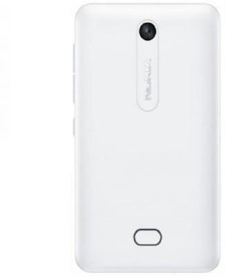 OBS Nokia Asha 501 Back Panel(White)