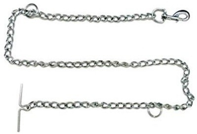 Pets Empire Dog leash Tether Chain (X-Large-size) 80 cm Dog Chain Leash(Silver)