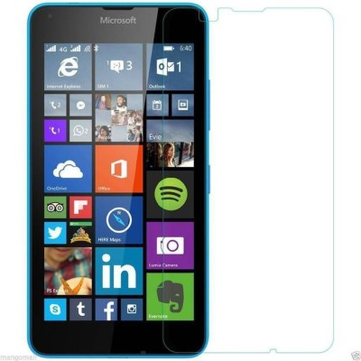 Loopee Tempered Glass Guard for Nokia Lumia 640 duaL sim(Pack of 1)