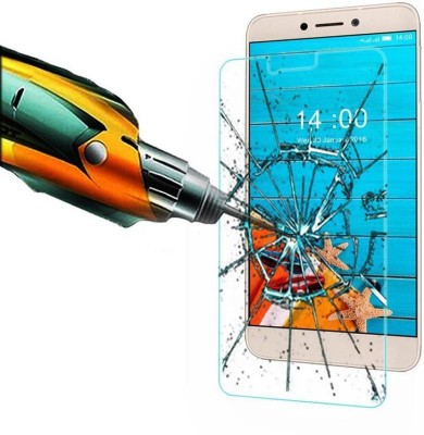 AmericHome Tempered Glass Guard for Micromax Canvas Hd A116
