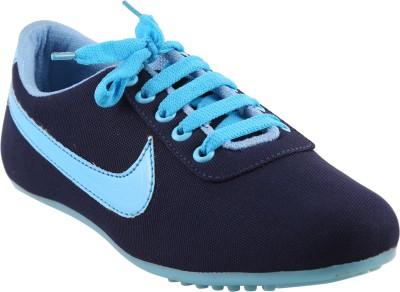 Affron Canvas Shoes For Women(Blue, Pink)