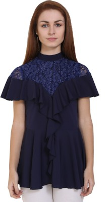 FORELEVY Casual 3/4th Sleeve Embroidered Women