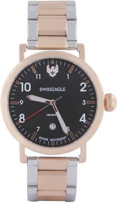 Swiss Eagle SE-9121-77  Analog Watch For Men