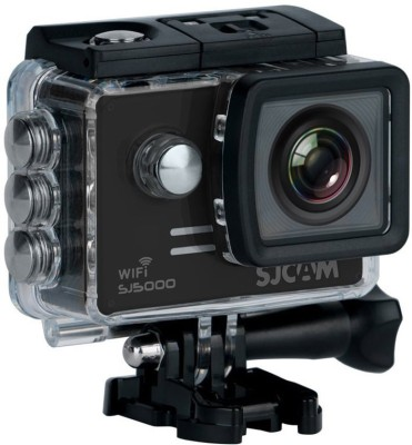 View SJCAM SJ5000 WIFI 14MP 1080P Sport Action Camera for Vehicle Diving Swimming Sports & Action Camera(Black) Price Online(SJCAM)