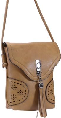 c074143956 Desence Sling Bag(Brown). Quick View. Ratan s Rust Faux Leather ...