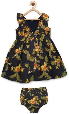 Bella Moda Girl's Casual Dress Bloomer(Black)