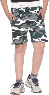 HARBOR N BAY Short For Boys Casual Printed Cotton(Multicolor, Pack of 1)