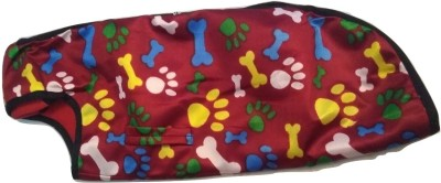 Furever Friend Care Coat for Dog(Red, yellow, black)