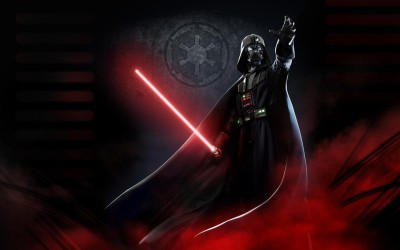 Wall Poster a/star-wars-darth-vader-red Paper Print(12 inch X 18 inch, Rolled)