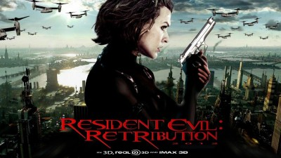Wall Poster Movies Resident Evil Retribution Milla Jovovich Paper
