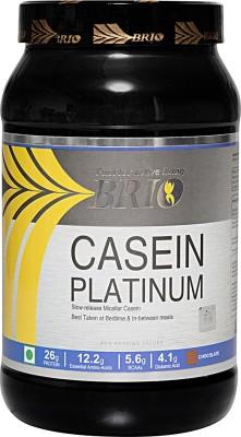 Brio Casein Platinum Casein Protein (1Kg, Chocolate)
