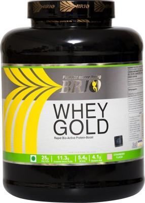 Brio Whey Gold Protein (2Kg / 4.4lbs, Strawberry)