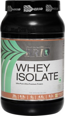 Brio Whey Isolate Whey Protein(1 kg, Cookies & Cream)