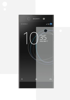ROBMOB Front and Back Screen Guard for Sony Xperia XA1 Ultra Dual(Pack of 2)