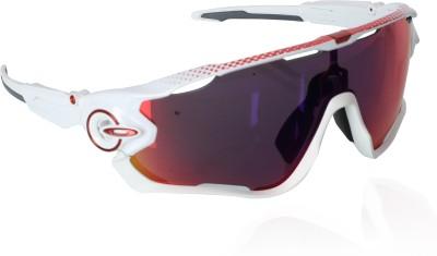 Oakley Sports Sunglasses(Red)