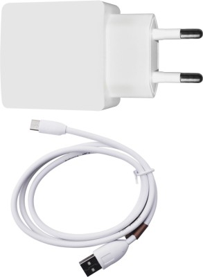 DAKRON Wall Charger Accessory Combo for Huawei Honor Holly 2 Plus White DAKRON Mobiles Accessories Combos