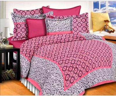 ChoiceUnique Cotton Double Printed Bedsheet(Pack of 1, Multicolor) at flipkart