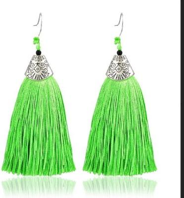 b4762cf95 75% OFF on Jeywaar Silver Oxidised Fringe ( Party Wear ) For Women & Girls  Metal Tassel Earring on Flipkart | PaisaWapas.com