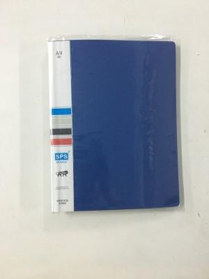 SPS A4 Size Display File Folder Plastic 10 Pocket (Pack Of 2)(Set Of 2, Blue)  available at flipkart for Rs.199