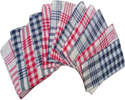 G S COLLECTIONS Kitchen Napkins /Sheets/Cleaning Cloth Soft and Multicolour Multipurpose Kitchen Napkin Table Wipe Set of 12 Sheets Multicolor Napkins(12 Sheets) at flipkart