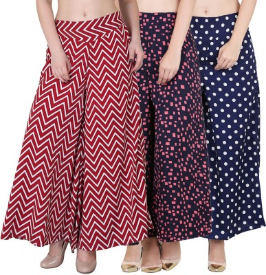 Phashion Town Regular Fit Women Multicolor Trousers