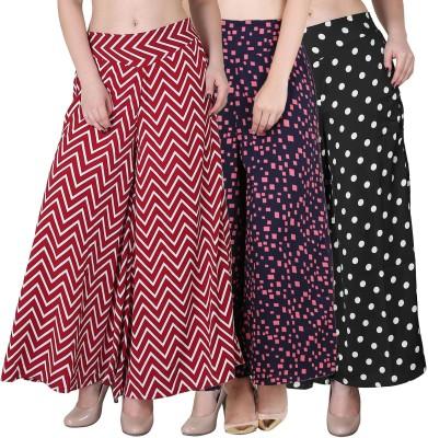 RJL&M Regular Fit Women Red Trousers