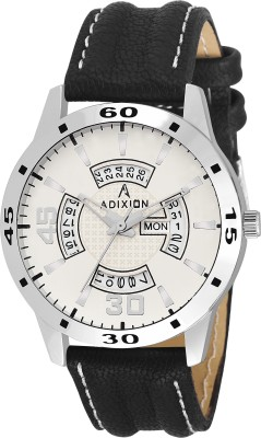 ADIXION 1918YM001 New Stainless Steel Day & Date rectangle Gold watch Watch  - For Men