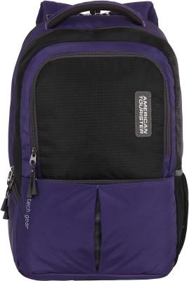 American Tourister AMT Tech Gear 21 L Laptop Backpack(Purple)