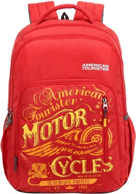 American Tourister AMT Boom 21 L Backpack(Red)