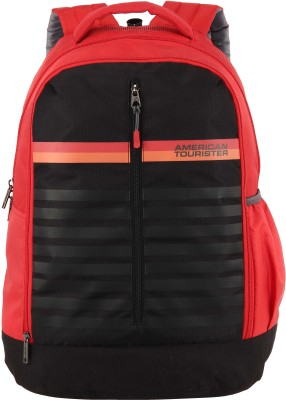 American Tourister AMT Ping 21 L Backpack(Red, Black)