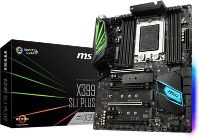 MSI X399 SLI PLUS Motherboard(Black)