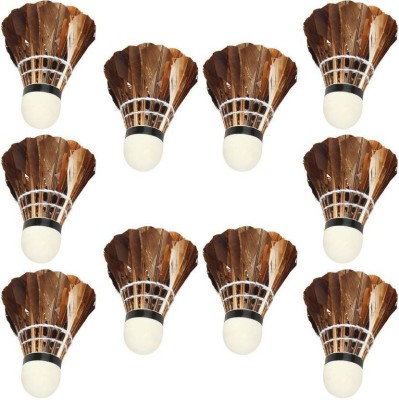 SMT Brown Feather Shuttle  - Brown(Medium, 77, Pack of 1)