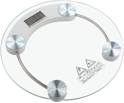 Emeret Weight Scale / Weighing Scale / Weighing Machine / Personal Weight Scale / Personal Weighing Machine / Weight Machine / Body Weight / Body Weight Machine / Transparent Weight Scale / Transparent Weighing Scale Weighing Scale(White)  available at flipkart for Rs.585