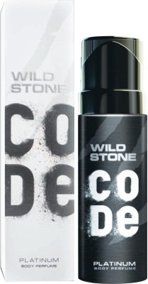Wild Stone Code Platinum Perfume Body Spray  -  For Men(120 ml)
