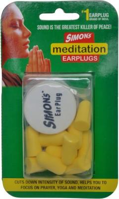 Simons MEDITATION EARPLUG Ear Plug(Yellow)
