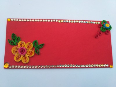 Handicraft Gifts Owosome envelopes(Pack of 1 Red)  available at flipkart for Rs.99