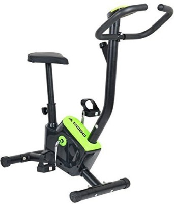 Kobo Upright Exercie Cycle AB Care King Cardio Fitness Home Gym Bike (Imported) Upright Stationary Exercise Bike(Black, Green)  available at flipkart for Rs.5499