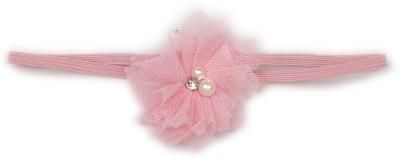 Pikaboo Tiny Flower Girls Headband - Baby Pink Head Band(Pink)