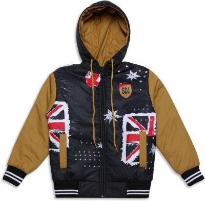 Duke Full Sleeve Solid Boys Jacket  available at flipkart for Rs.972