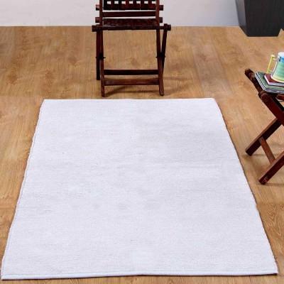 Linenwalas Cotton Bathroom Mat(White, Medium) at flipkart