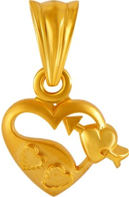 PC Chandra Jewellers Valentine's Day 14kt Yellow Gold Pendant