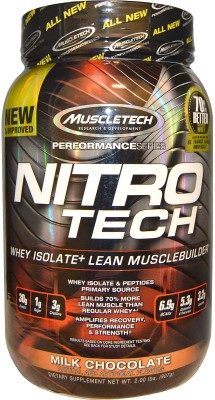 Muscletech Performance Series Nitrotech Whey Protein(907 g, Milk Chocolate)