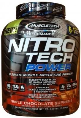 Muscletech Performance Series Nitrotech Power Creatine (4lbs, Triple Chocolate Supreme)