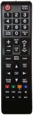 LipiWorld Lcd Led Tv Universal Remote Control For Samsung Led/Lcd Remote Controller(Black)