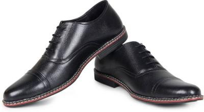7bca65304f7cca 20% OFF on NMD Men's Pure Leather Formal Shoes Lace Up For Men(Black) on  Flipkart | PaisaWapas.com