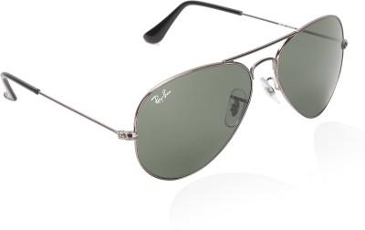 Ray-Ban Round Sunglasses(Grey)