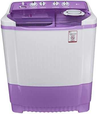 LG P8537R3SA 7.5 KG Semi Automatic Top Load Washing Machine Burgundy