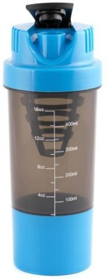 BM Kitchenware Gym Shakeit 500 ml Shaker, Bottle(Pack of 1, Multicolor)  available at flipkart for Rs.234